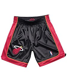 Mitchell & Ness Men's Miami Heat Authentic NBA Shorts
