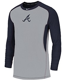 Nike Men's Atlanta Braves Authentic Collection Game Top Pullover