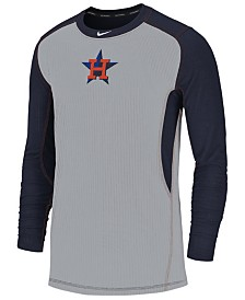 Nike Men's Houston Astros Authentic Collection Game Top Pullover