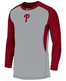 Men's Philadelphia Phillies Authentic Collection Game Top Pullover