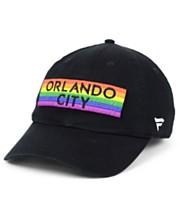 outlet store 24ed7 634f8 Authentic MLS Headwear Orlando City SC Pride Strapback Cap