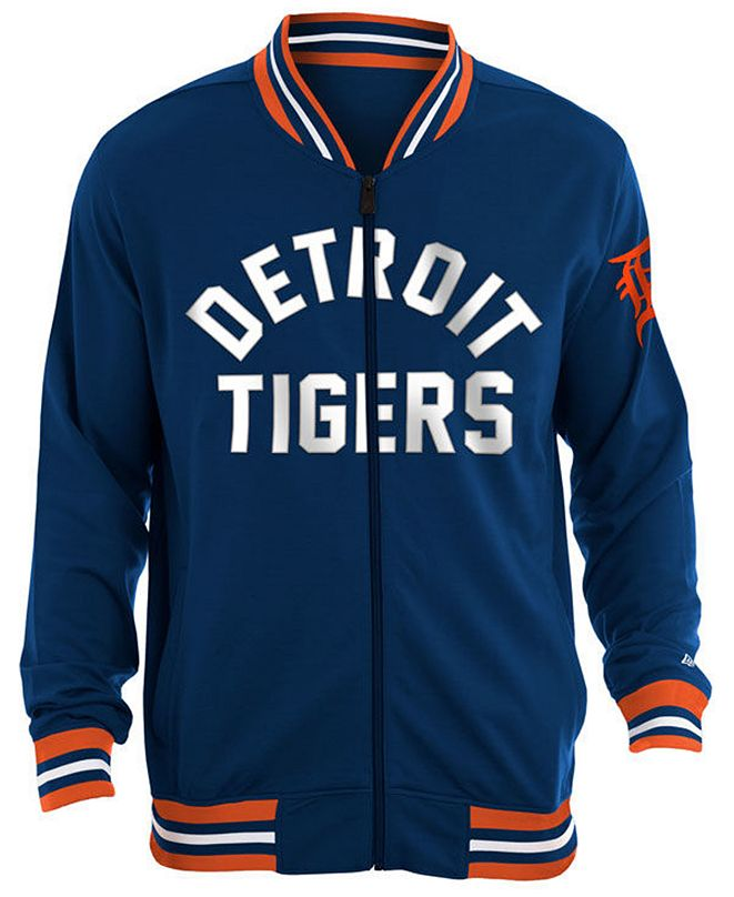 New Era Men's Detroit Tigers Lineup Track Jacket