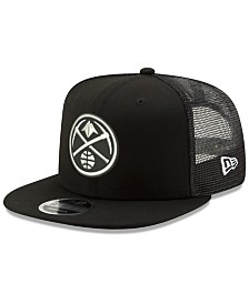 New Era Denver Nuggets Dub Fresh Trucker 9FIFTY Snapback Cap