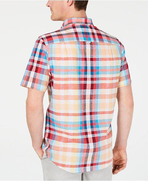Bradley a de Chemise en Clubcree Hommes carreaux pourCritiques pour Orange chambre la Chemises soleil hommes lin ikXZuP