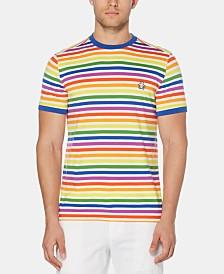 Original Penguin Men's Pride Rainbow Stripe T-Shirt