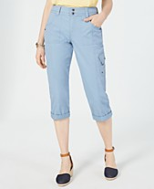 88c96094084fb1 Style & Co Cropped Cargo Pants, Created for Macy's