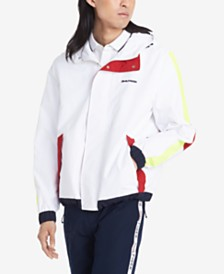 Tommy Hilfiger Men's Dakota Colorblocked Hooded Yacht Jacket