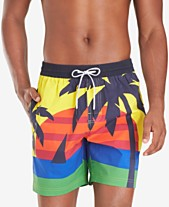 fc3decf220 Tommy Hilfiger Men's Darcy TH Flex Stretch Tropical-Print 6-1/2