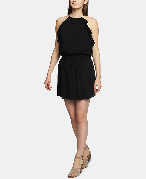 1.STATE 1. STATE Ruffled A-Line Mini Dress