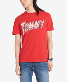 Tommy Hilfiger Denim Men's Rainey Logo Graphic T-Shirt