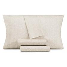 CLOSEOUT! AQ Textiles Modernist Floral 4-Pc Sheet Sets, 350 Thread Count Cotton Blend
