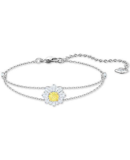 Crystal Sunshine Link Bracelet