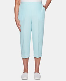 Alfred Dunner Catalina Island Pull-On Capris