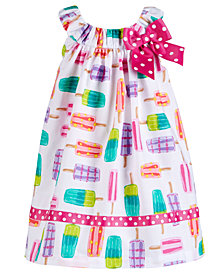 Bonnie Baby Baby Girls Popsicle-Print Sundress