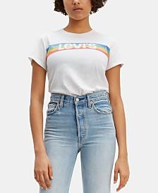 Levi's® The Perfect Cotton Logo Graphic T-Shirt