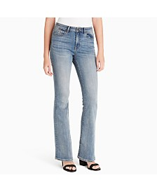 Jessica Simpson Juniors' Adored High-Rise Flare Jeans