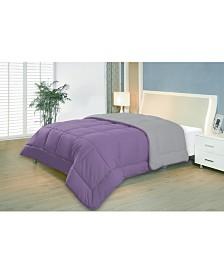 Reversible Down Alternative Comforter, Full/Queen