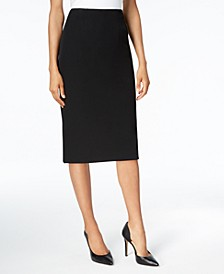 Petite Pencil Midi Skirt