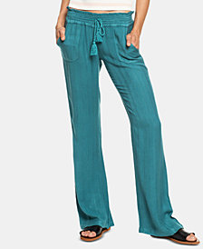Roxy Juniors' Oceanside Textured Soft Pants