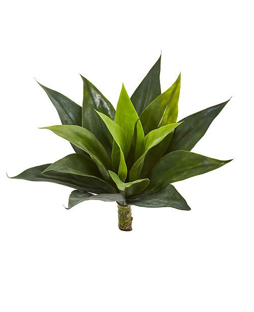 """Nearly Natural 13"""" Agave Succulent Artificial Plant (Set of 6)"""