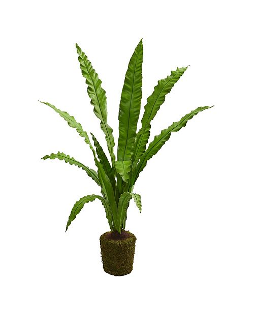 Nearly Natural 5' Birds Nest Artificial Plant
