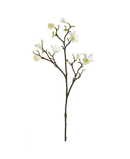 """Nearly Natural 34"""" Magnolia Artificial Flower (Set of 6)"""
