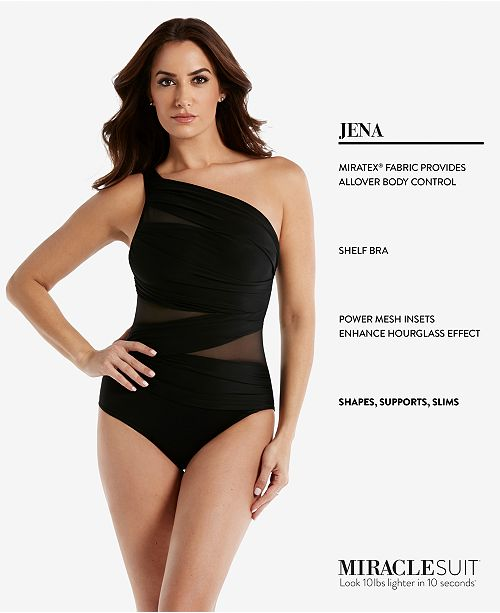 6e117862cecc6 ... Miraclesuit Network Jena One-Shoulder Allover Slimming One-Piece ...