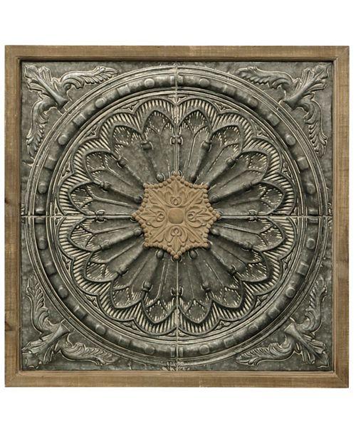 StyleCraft Colonial Medallion Wall Panel
