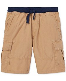 Polo Ralph Lauren Little Boys Cotton Pull-On Cargo Shorts