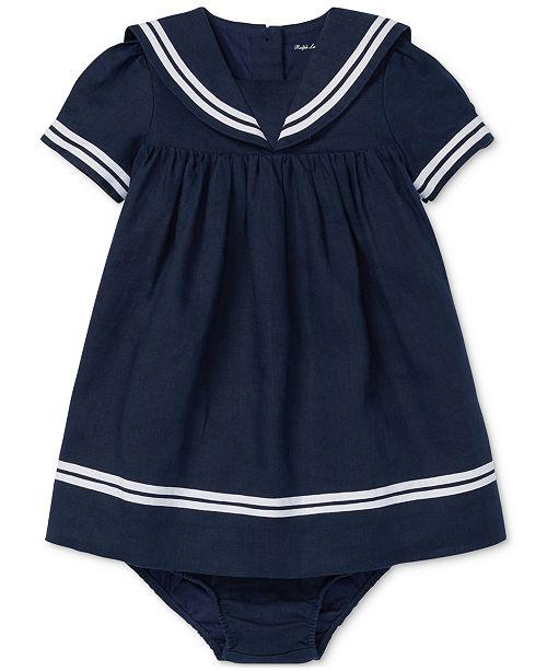 b73b312dd3 Baby Girls Sailor Dress & Bloomer