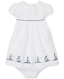 Polo Ralph Lauren Baby Girls Nautical Dress & Bloomer