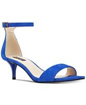 597c2cf08abd Nine West Leisa Two-Piece Kitten Heel Sandals