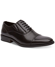 Unlisted by Kenneth Cole Men's Half Lace-Up Oxfords