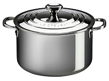 Le Creuset 11-Qt. Stainless Steel Stockpot with Lid