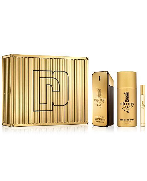 Paco Rabanne 1 Million Eau de Toilette 3-Pc. Gift Set