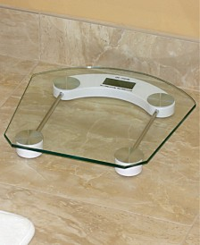 Home Basics Glass Bathroom Scale