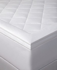"Hotel Luxury Diamond Quilted 3"" Down Alternative Mattress Pad, King"