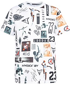 Jordan Big Boys Printed T-Shirt
