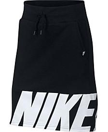 Big Girls Fleece Skirt