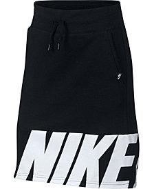 Nike Big Girls Fleece Skirt