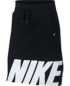 Nike Big Girls Fleece Skirt
