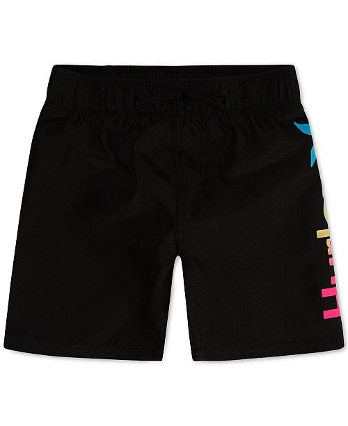 Hurley Little Boys One And Only Swim Trunks