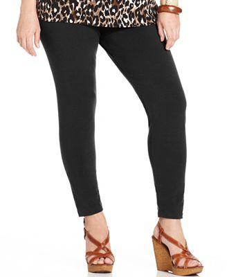Style & Co Plus Size Full-Length Leggings