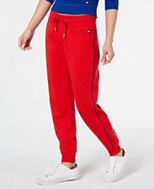 Tommy Hilfiger Sport Piping-Trim Joggers, Created for Macy's