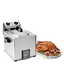 Cuisinart CDF-500 Extra Large Rotisserie Fryer and Steamer