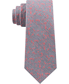 Calvin Klein Men's Abstract Garden Classic Floral Tie