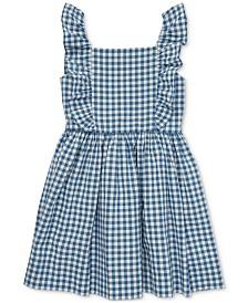 Polo Ralph Lauren Toddler Girls Ruffled Gingham Cotton Dress