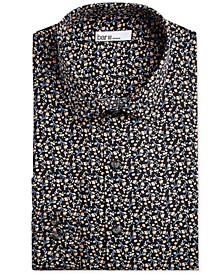 Men's Slim-Fit Performance Stretch Floral Vine Dress Shirt, Created for Macy's