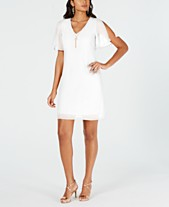 02cca6a774a47f white shift dress - Shop for and Buy white shift dress Online - Macy's