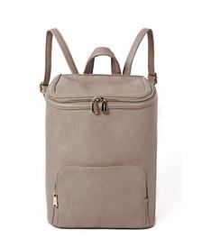West Vegan Leather Backpack